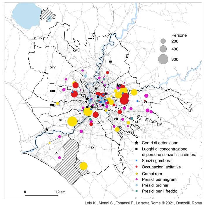 città invisibili roma mapparoma
